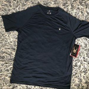 Spyder h20 polyester shirt size medium NWT